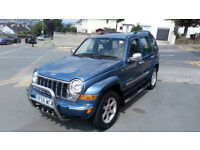 Jeep Cherokee CRD 2.8 Metallic Blue Excellent Running and Maintenance