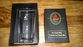 Bass Brewery Collectors Edition One Pint Glass In Presentation Box