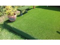 Commercial grade synthetic grass for patios/balconies and pathways