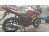 Excellent condition honda cbf125. Brand new mot, brand new tyres to go with motorbike for free.