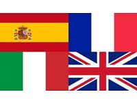 French, Italian, Spanish and Maths far all