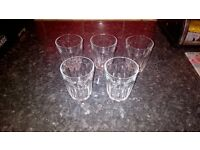 5 GLASSES. CHEAP TO CLEAR.