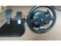 Thrustmaster TMX Racing wheel Xbox one and Windows Excellent condition