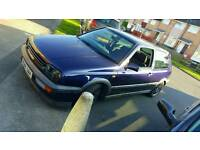 !! MINT OLD SCHOOL GOLF GTI 16V .F.S.H