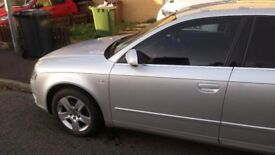 Audi A4 - Clean and Metallic Silver Colour With Tinted Window