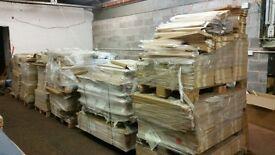 joblot of kitchen doors 20 pallets 2000 plus doors rrp £35k only £850