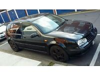 mk4 golf MOT 1.6 AUTO petrol rare and nice car needs tlc RELISTED DUE TO TIME WASTERS AND PRICE DROP