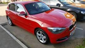 2011 BMW 118D SPORT RED 5 DOORS