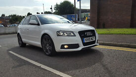 2010 AUDI A3 SLINE BLACK EDITION QUATTRO FULL MAIN DEALER SERVICE 12 M MOT 6 M NATIONWIDE WARRANTY