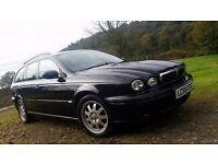 Jaguar X Type Estate 2Lt Diesel Only 98000 Miles