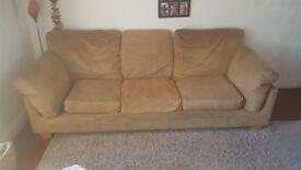 Multiyork 3 seater sofa & chair