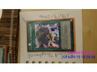 Super rare Yu Gi Oh cards from Rivals of the Pharaoh