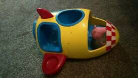 Weeble peppa pig spaceship