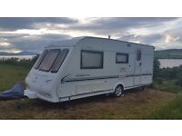 Caravan Compass Omega524 with motor mover + awning + large annex