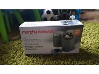 Morphy Richards storage canisters