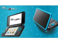 Nintendo 2DS XL - black - 50 games - not PS4/XB1/Playstation/Xbox/Game/3DS/3DS XL