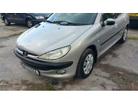 BRILLIANT PEUGEOT 206 1.1 VERY LOW MILES,CHEAP INSURANCE AND FUEL,EXCELLENT RUNNER,BARGAIN OFFER!!!