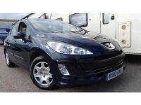 2010 PEUGEOT 308 1.6 S BLUE NEW MOT FULLY SERVICED IMMACULATE CONDITION