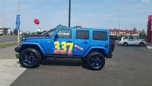 2014 Jeep WRANGLER UNLIMITED Unlimited WE FINANCE EVERY ONE Edmonton Edmonton Area image 1