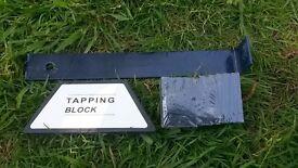 Tapping Block Kit for wood / laminate flooring