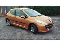 Peugeot 207 1.6 Hdi 56 plate VGC in & out drives as new mot'd