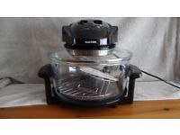 Salter halogen low fat fryer