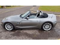 2003 BMW Z4 2.5i ROADSTER petrol convertible with long mot