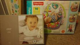 Baby sit up ring and play mat