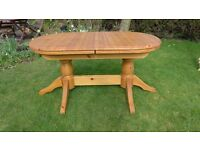 Table pine extendable