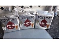 Coffee machine and Costa coffee pods