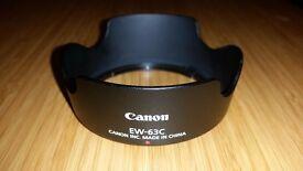 Canon Lens Hood EW-63C (original) - like new