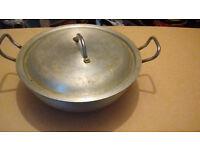 Medium Oval Stainless Steel Pot