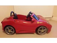 Ferber Ferrari kids ride on car