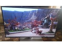 """SHARP 42"""" LED TV FREEVIEW HD/SMART/3D/300HZ/MEDIA PLAYER/WIFI BUILT IN/SLIM DESIGN/ NO OFFERS"""