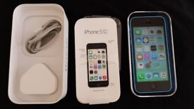 16GB Iphone 5c in Blue in Perfect Great Working Mint Condition. Like New