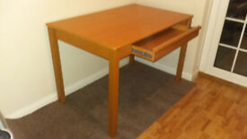 Newly reduced ! Desk with drawer ( IKEA ) Ex Condition