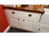 Howdens kitchen base cabinet