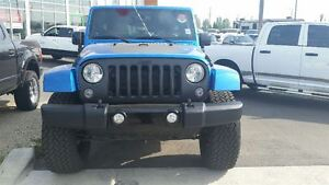 2014 Jeep WRANGLER UNLIMITED Unlimited WE FINANCE EVERY ONE Edmonton Edmonton Area image 3