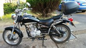 motor cycle 125lexmototo l3 petrol long mot car very good engine in gearbox ok