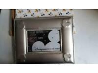 Euro Disney silver photo frame.