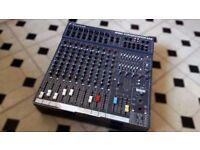 Soundcraft Powerstaion Spirit 600 watt Mixer Amplifier