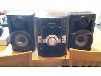 5 cd changer hi fi stereo