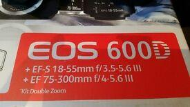Canon 600D DSLR Digital Camera