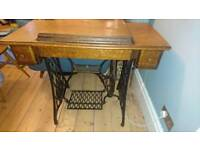 Singer sewing table / dressing table