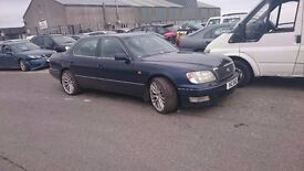 1998 LEXUS LS400, 4.0 PETROL, BREAKING FOR PARTS ONLY, POSTAGE AVAILABLE NATIONWIDE