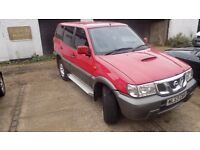 2003 Nissan Terrano Il 2.7 TDi SE 5dr. 4x4 Estate Manual.MOT 11-17.
