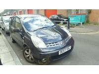 2007(OE57VSJ)NISSAN NOTE 1.4 PETROL MANUAL.IN EXCELLENT CONDITION.LONG MOT
