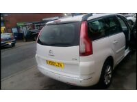 Citrein grand c4 Picasso rossendlae taxi plated for sale