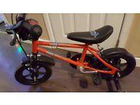 "Boys 12"" wheel Urban Racer bike with stabilisers"