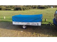 CONWAY TRAILER TENT WITH AWNING WINTER BARGAIN!